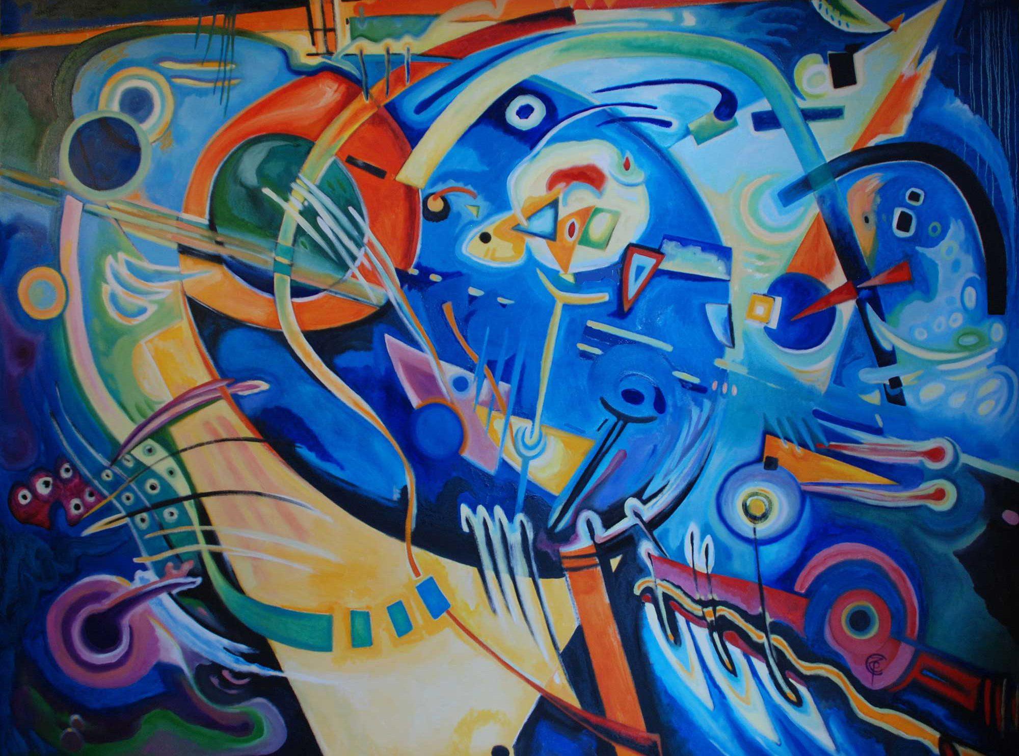 Le opere di Pino Zennaro